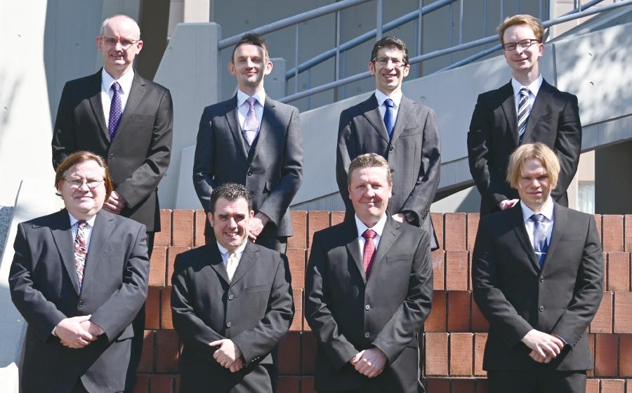 イギリス人教員の集合写真です。