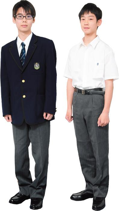 男子生徒の制服です。