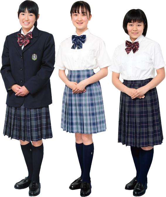 女子生徒の制服です。