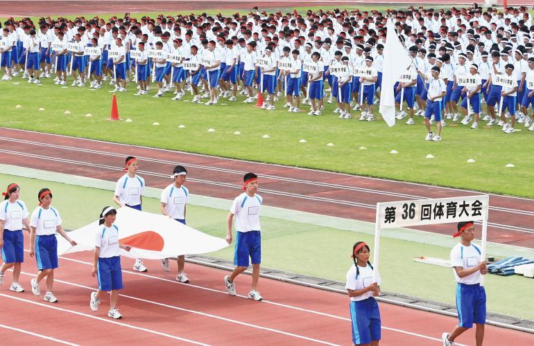 体育大会の写真です。